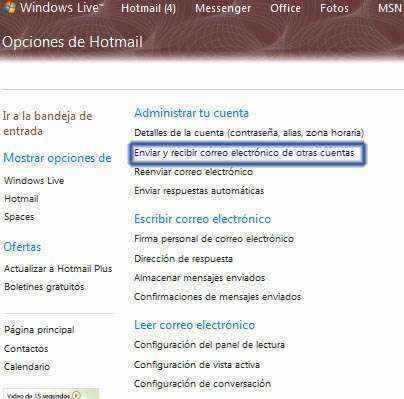 integrar-hotmail-gmail