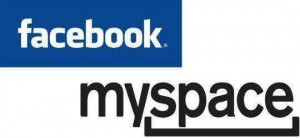 myspace facebook