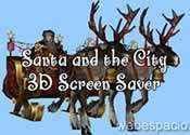 protector de pantalla 3d de navidad