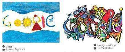 doodles argentina chile