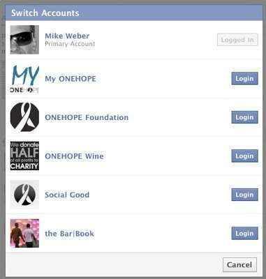 multiples cuentas facebook