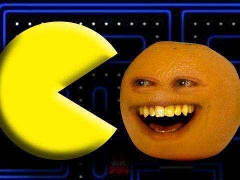 pacman naranja