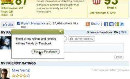 personalizacion instantanea facebook