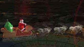Siga el recorrido de Santa Claus por Twitter y Facebook
