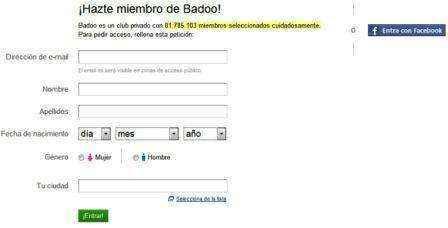registro badoo