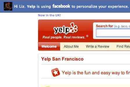 yelp  facebook