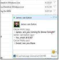 chat msn facebook hotmail