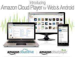 Reproductor de música CloudPayer a través de la web o Android