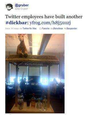 dickbar twitter