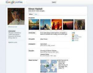 google perfil publico