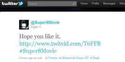 super8 tweet