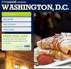 LivingSocial ofrece ofertas de almuerzo US $ 1