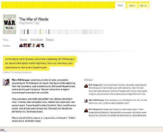 OpenMargin lanza servicio de comentarios en eBooks.