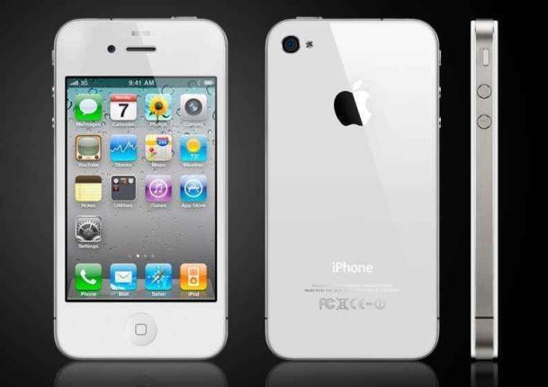 White iPhone 4 a la venta en Apple online