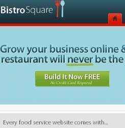 BistroSquare: gestionar paginas web para restaurantes