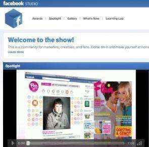 Facebook Studio para publicistas