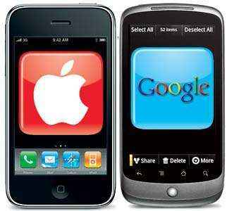 Android de Google le gana a iPhone de Apple