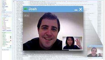 google chat video