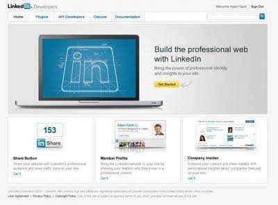 linkedin desarrolladores web