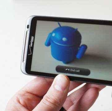 Skype con videochat para smartphone HTC Thunderbolt