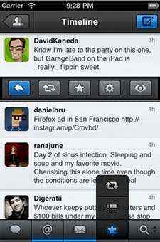 tweetbot para iphone y ipod touch