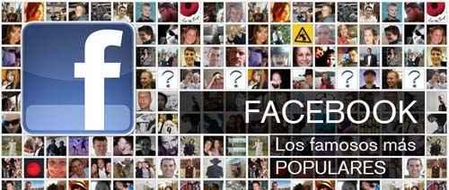 Facebook de famosos