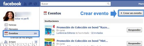 crear evento en facebook