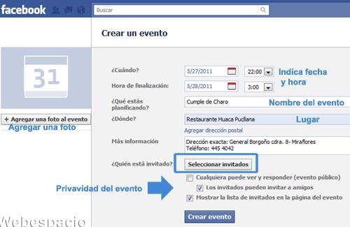 editar eventos facebook