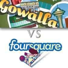 Gowalla versus Foursquare