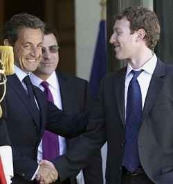 Empresarios de las grandes corporaciones de Internet se reúnen en Francia