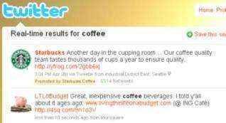 twitter tweets promocionados starbucks