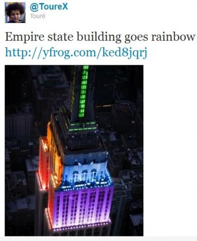 Empire State arco iris