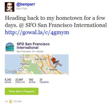 Desde la web de Twitter podrás ver contenidos de terceras webs