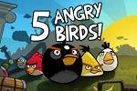 Los cinco jugadores de Angry Birds