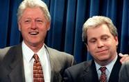 Bill Clinton y nuevo trabajador de Facebook
