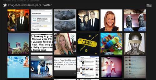 "herramienta ""buscar fotos"" de Twitter"
