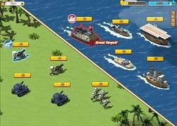 Tropas luchando en Empires & Allies
