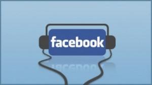 Facebook logo Musica