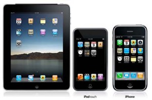 iPad, iPhone, iPod
