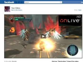 Onlive se une a facebook para bien de usuarios