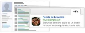 administrar recomendaciones botón +1 de google