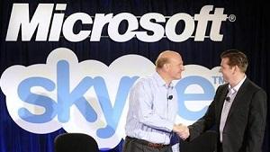Skype junto a Microsoft