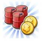 Petroleo y monedas en Empires & Allies