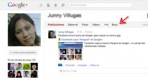 Google Plus Buzz