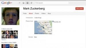Los 100 perfiles con más seguidores en Google+