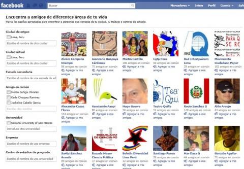 buscar amigos facebook por ciudad
