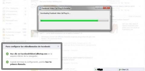 Facebook instalando