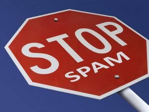 stop spam con google
