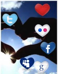 historia de amor en las redes sociales