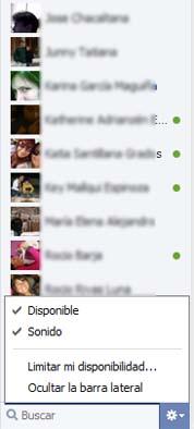 nuevo chat facebook